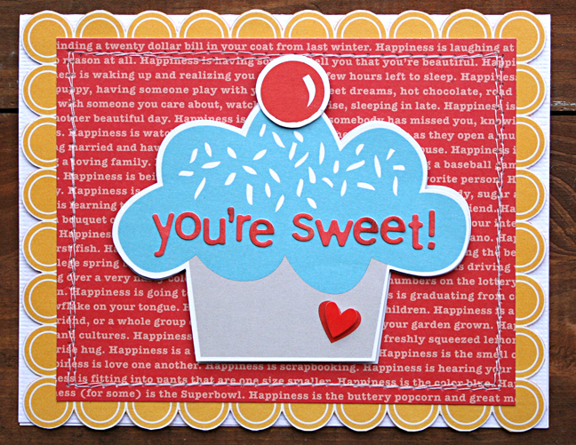 KIM HOLMES Sweet+Card
