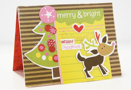 MICHELLE CLEMENT MERRY card