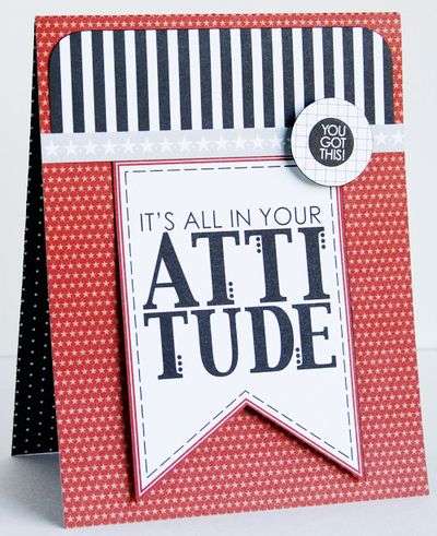 GRETCHEN ATTITUDE card