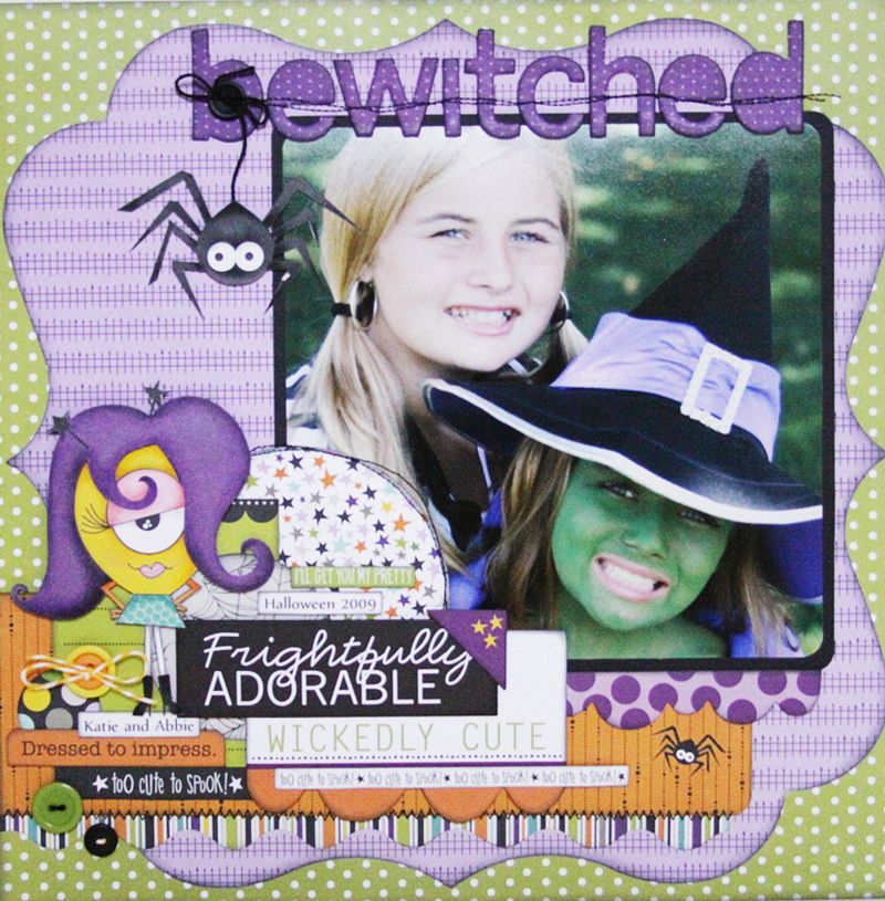 JULIE JOHNSON BEWITCHED layout