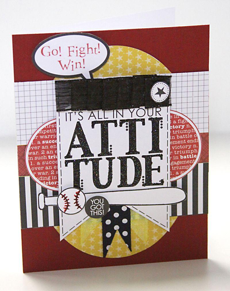 ALICE ATTITUDE card