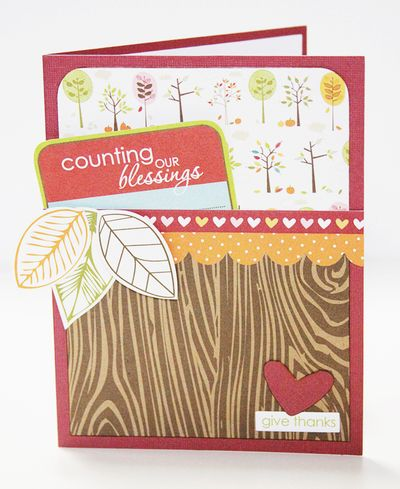 GRETCHEN GIVE THANKS card