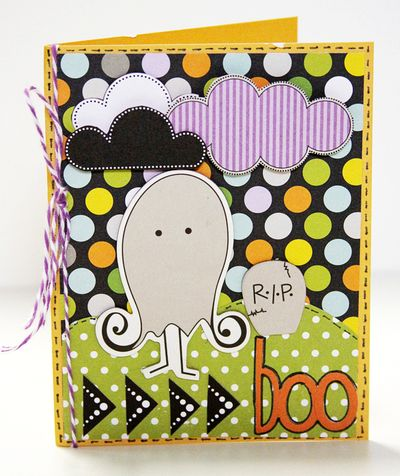 MICHELLE LANNING BOO card
