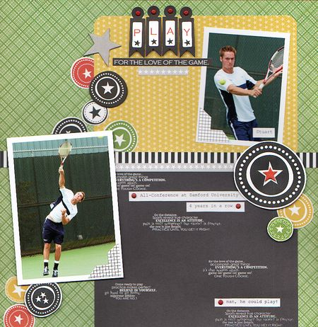 GRETCHEN TENNIS layout