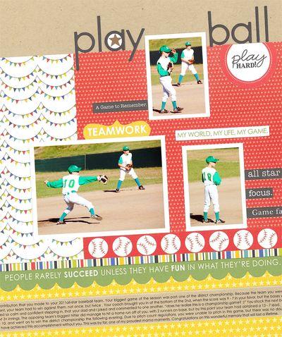 Sheri Reguly _ play ball _ close up