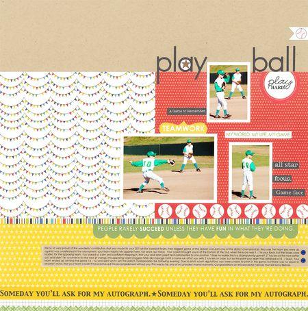 Sheri Reguly _ play ball