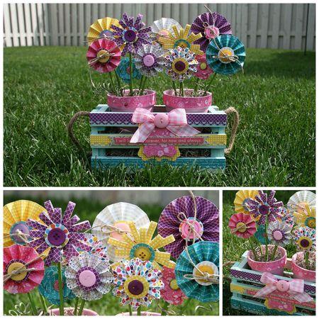 MJ Hamel - Flower pots