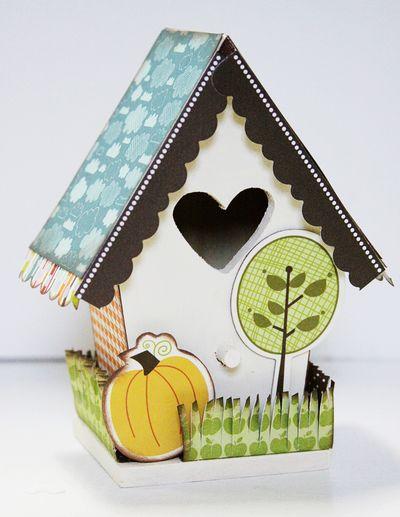 MORGAN BIRDHOUSE alteredhouse