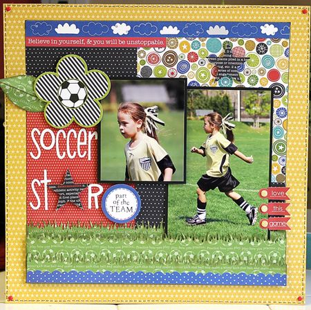 MICHELLE LANNING SOCCER layout