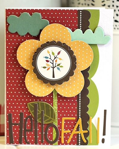 MICHELLE LANNING FALL card
