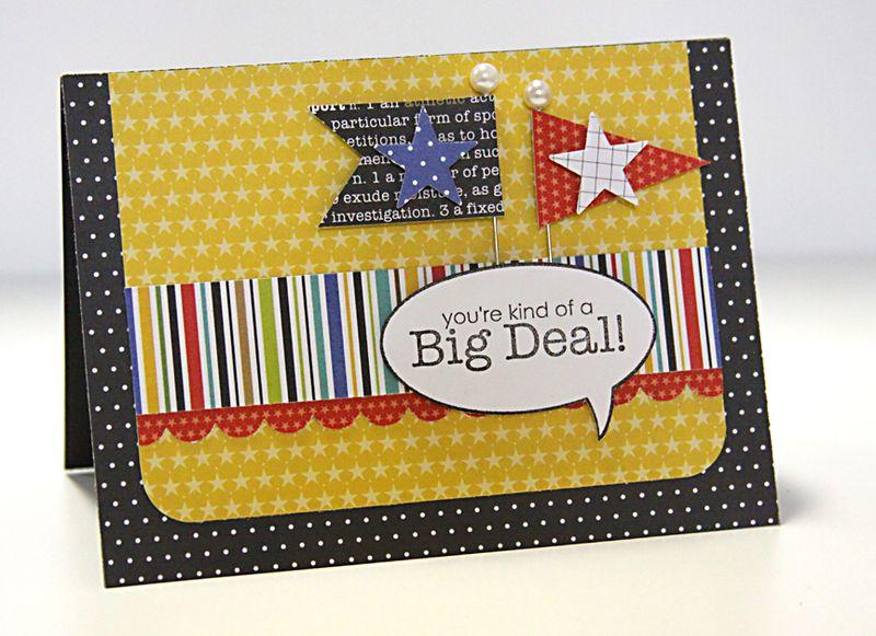 SHERI BIG DEAL card