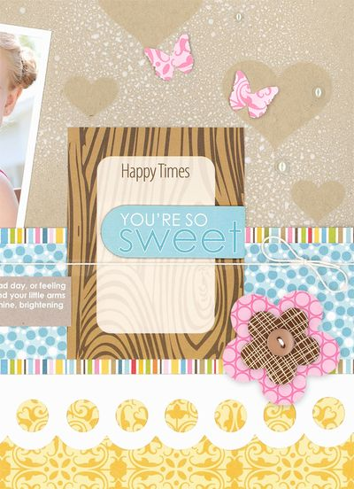 Sheri Reguly _ you're so sweet - close up