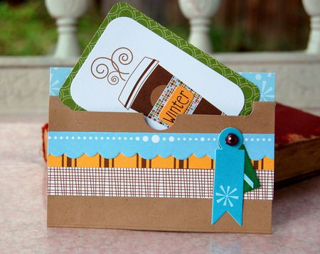 Charity- gift card holder