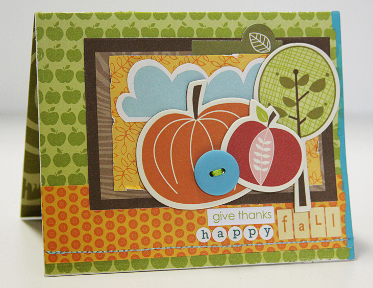 MICHELLE CLEMENT FALL card
