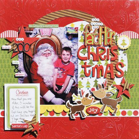 KERRYN FATHER CHRISTMAS layout