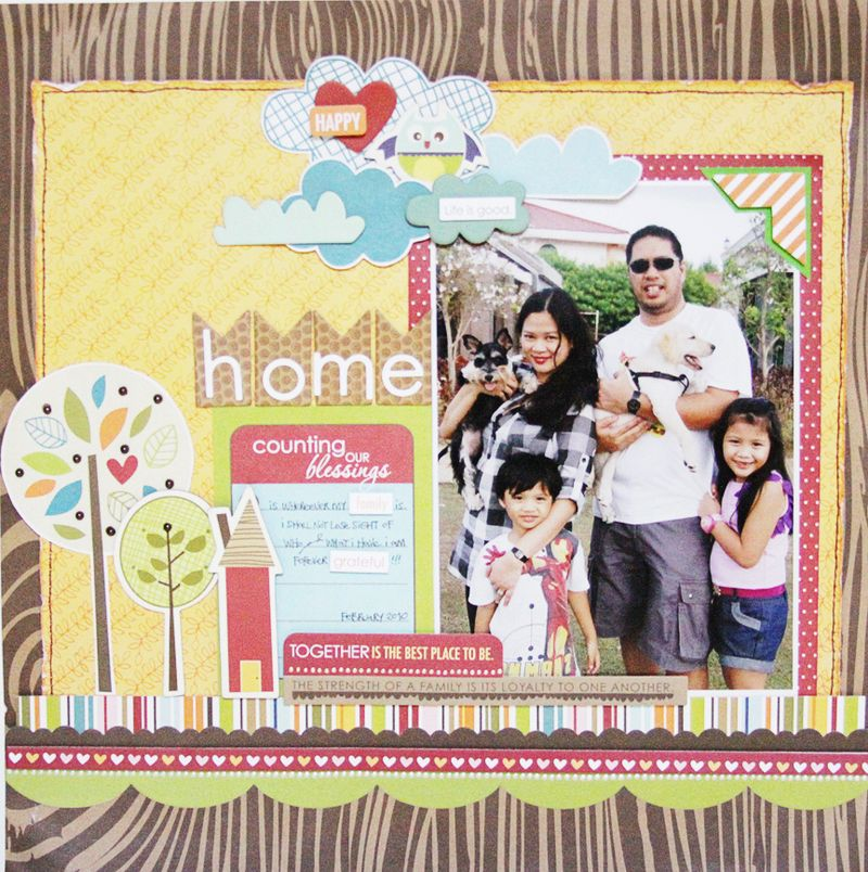 JANIS HOME layout