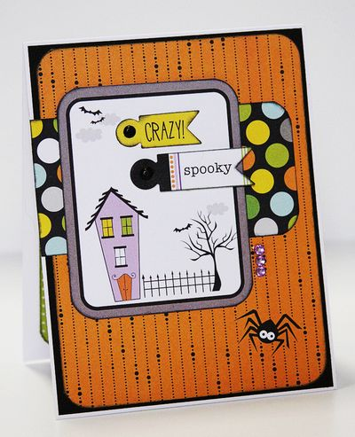 GAIL SPOOKY card