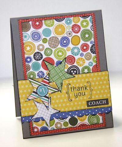 ALLYSON THANKS card