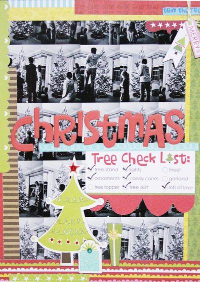 KATHERINE CHRISTMAS layout