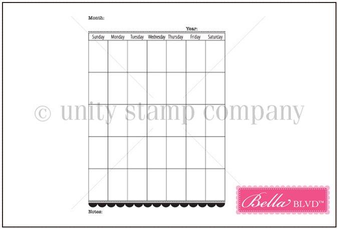 Calendarstamp