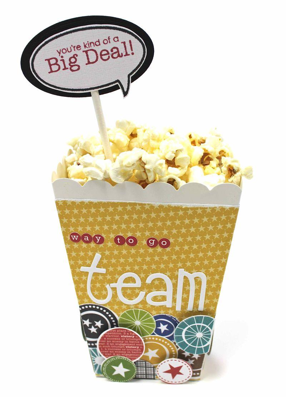 Making the Team - popcorn