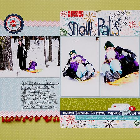 KNeddo-Snow-Pals-November-Sketch