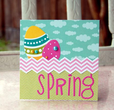 Charity- Spring card