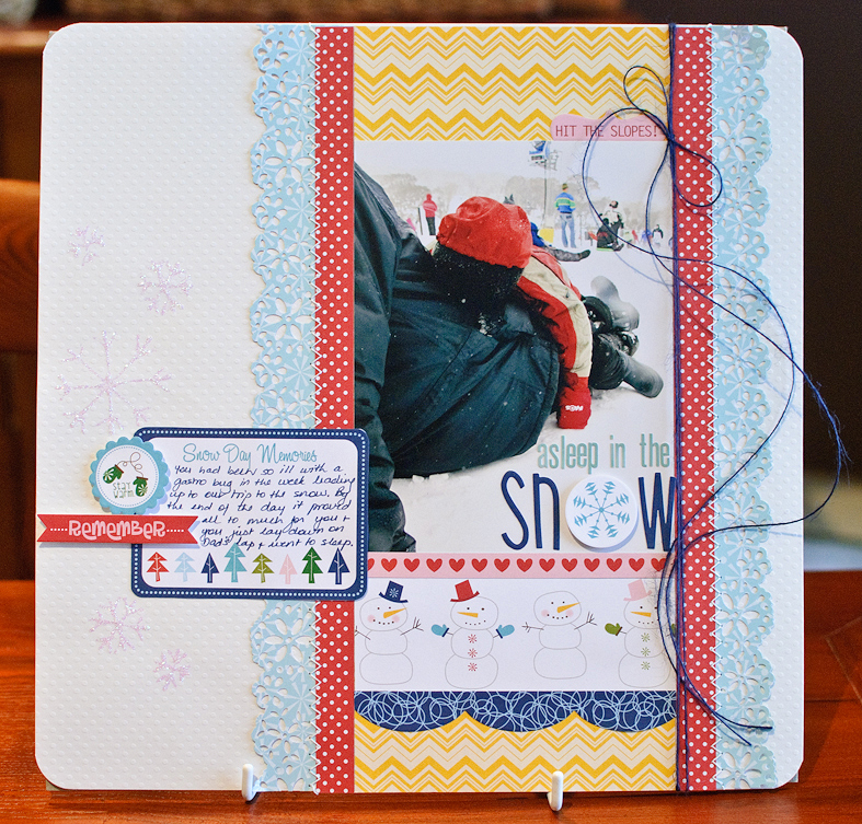 Kim arnold_asleep in the snow_layout