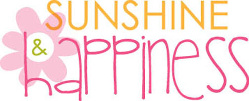1 LOGO SUNSHINE AND HAPPINESS