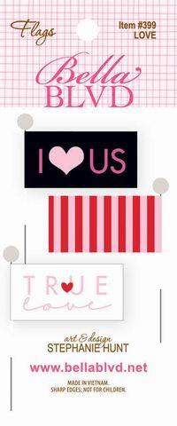 399 FLAGS LOVE
