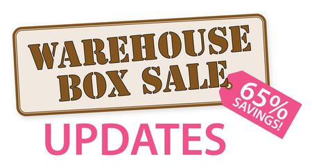 WAREHOUSE SALE UPDATE