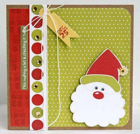 GretchenMcElveen_Santa Christmas_card