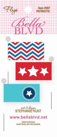397 FLAGS PATRIOTIC