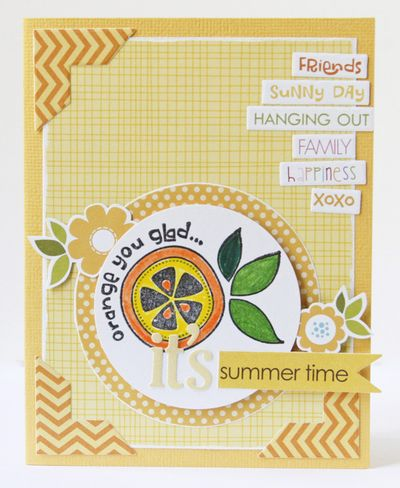 Gretchen McElveen_S&H stamps_Its summer time card