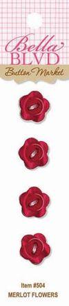 504 MERLOT FLOWERS