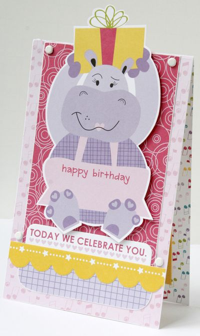 GretchenMcElveen_Birthday Girl card3_Today we celebrate you card
