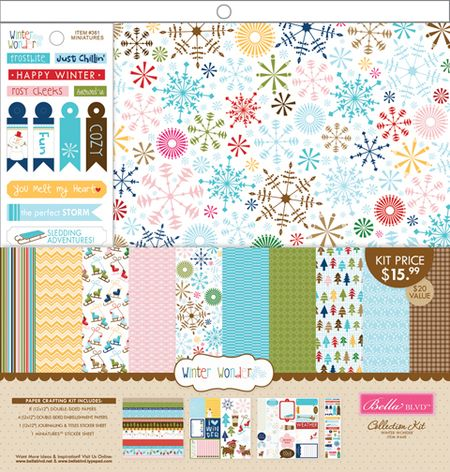 447 COLLECTION KIT WINTER WONDER