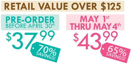 WAREHOUSE BOX SALE APRIL 2012 VALUES BLOG