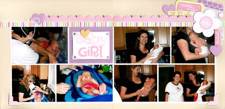 Gretchen McElveen_Coordinations_Baby Girl layout
