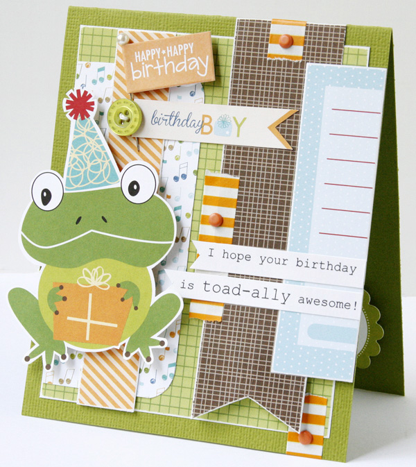 GretchenMcElveen_Birthday Boy card3_Toadally awesome card