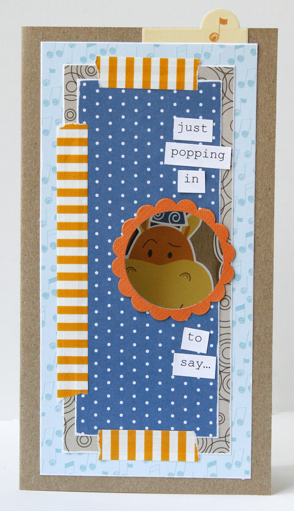 Gretchen McElveen_Card Tutorial_PeekaBoo birthday card