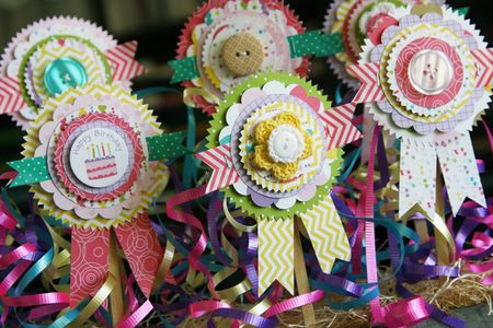 LauraVegas_BirthdayGirl_PaperAwardRibbons_AlteredProject3