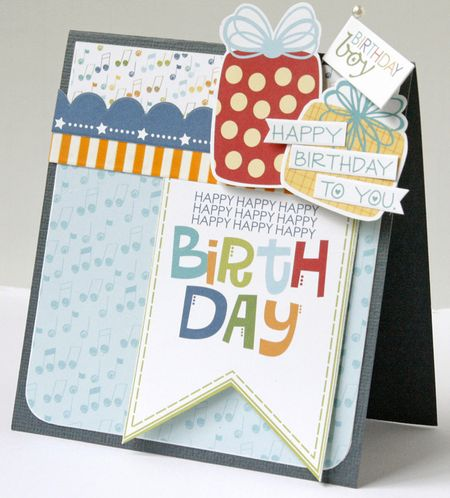 Gretchen McElveen_Birthday card_Birthday Boy card