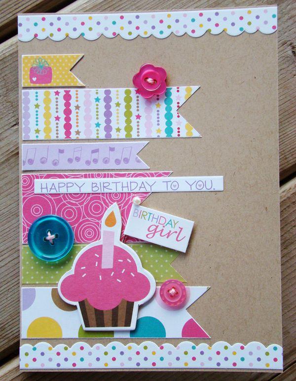 Bella Blvd Studio Blog Bellas 4th Birthday Celebration Week – Birthday Card Scrapbook Ideas