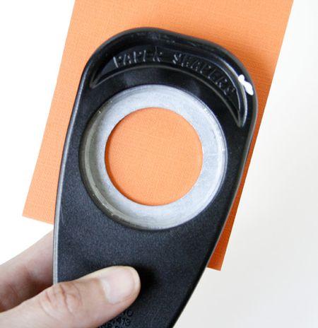 Punch orange circle