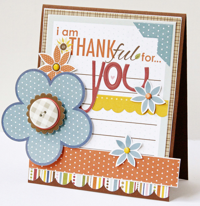 Gretchen McElveen_Thankful card_Thankful for you