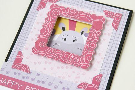 Gretchen McElveen_Birthday Girl peekaboo card_close up