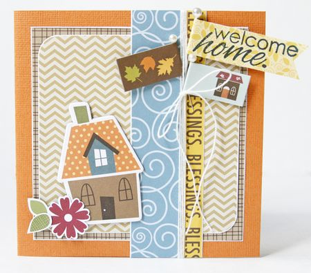Gretchen McElveen_Unity Stamp card _Welcome home