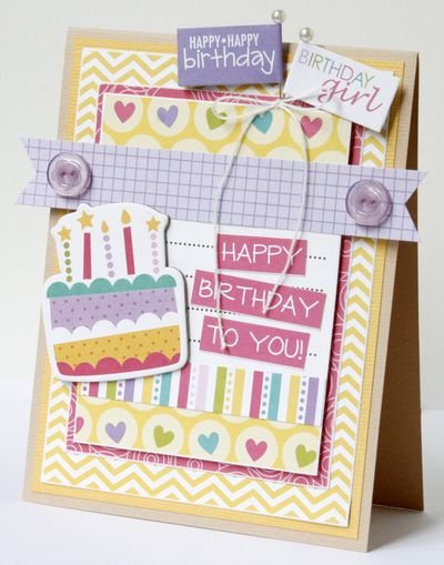 GretchenMcElveen_Birthday Girl card1_Happy Birthday to You card