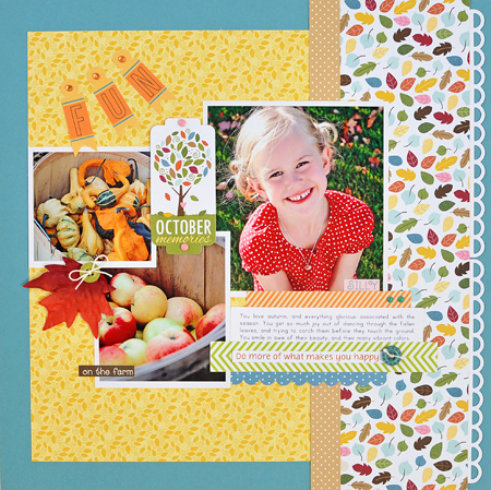 Sheri Reguly _ Fun October Memories _ Layout